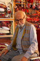 Mr Salmi Wazir textile collector/dealer.